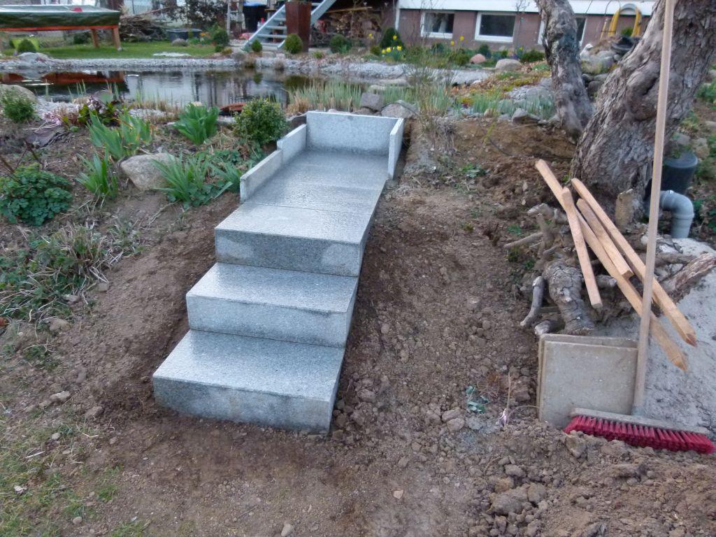 Gartentreppe beton