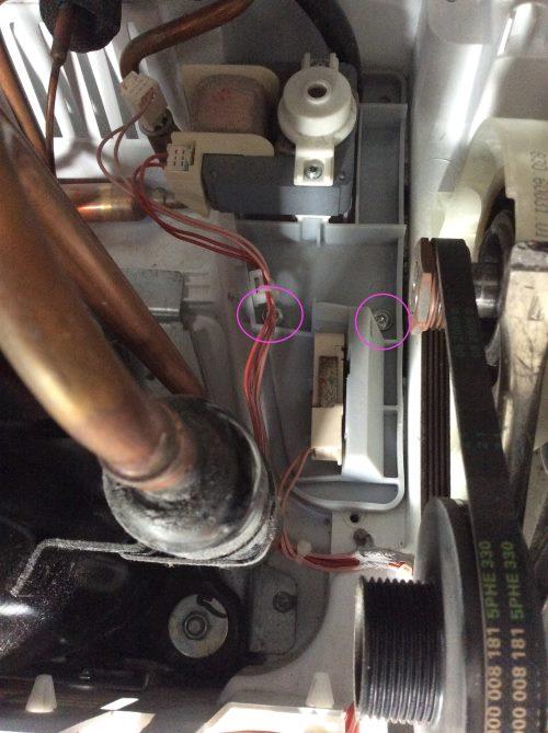 Bosch WTW86591 Pumpe